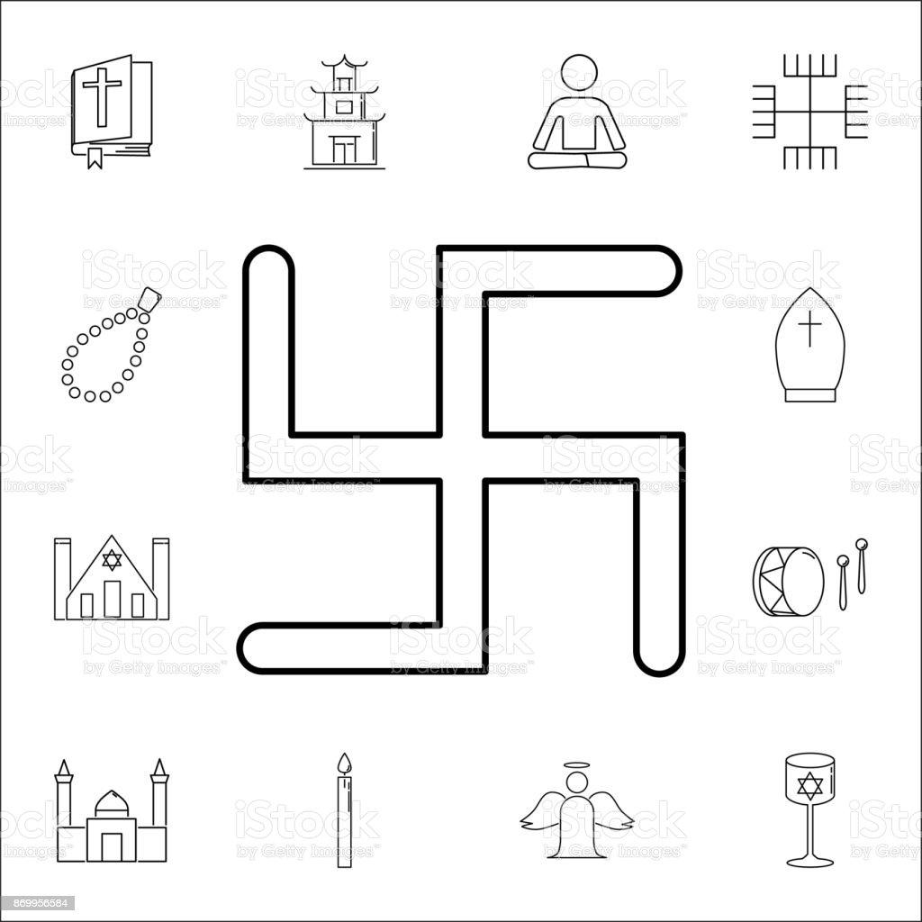 Swastika icon set of religion icons web icons premium quality swastika icon set of religion icons web icons premium quality graphic design signs biocorpaavc
