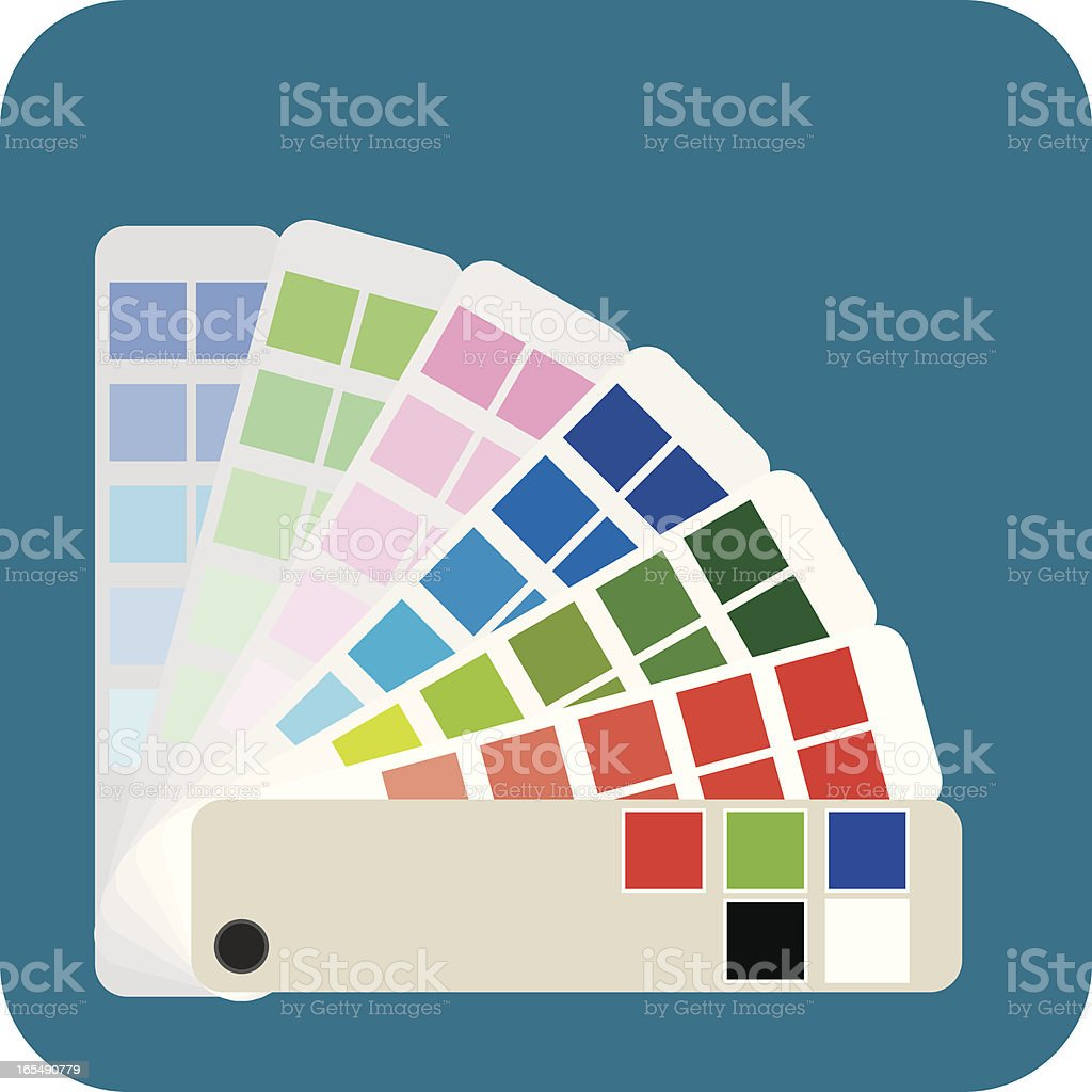 Swatches Web royalty-free stock vector art