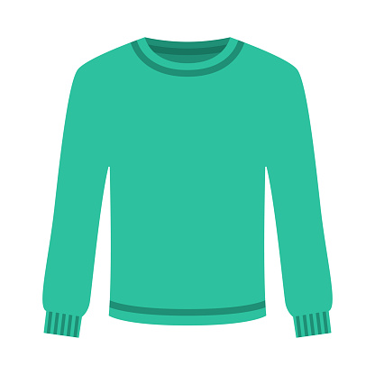 Sweater Icon on Transparent Background