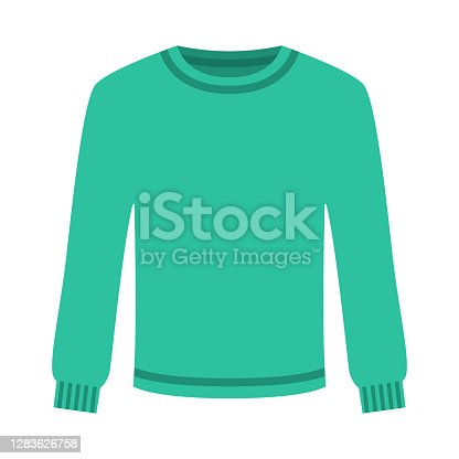istock Sweater Icon on Transparent Background 1283626758