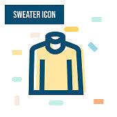 istock Sweater Icon 1319189673