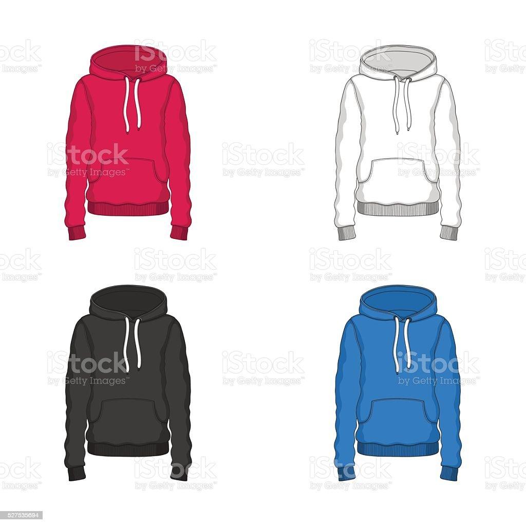 Sweatshirt Stock Vektor Art und mehr Bilder von Blau 527535694 | iStock