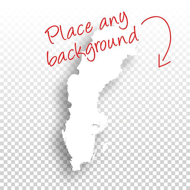 bildbanksillustrationer, clip art samt tecknat material och ikoner med sweden map for design - blank background - sweden map