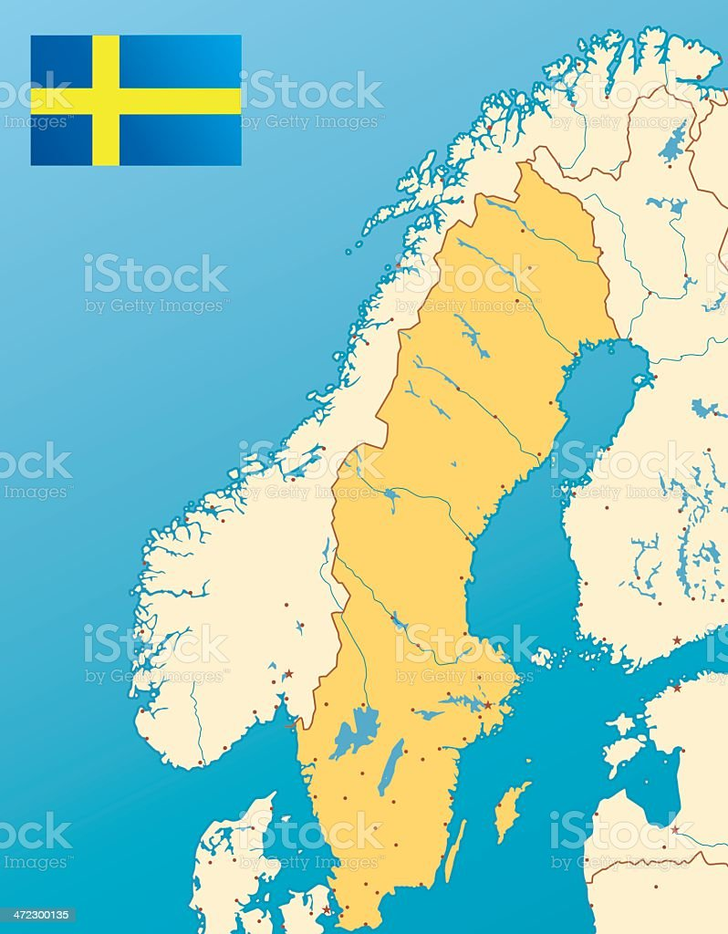 karte land schweden hanzeontwerpfabriek