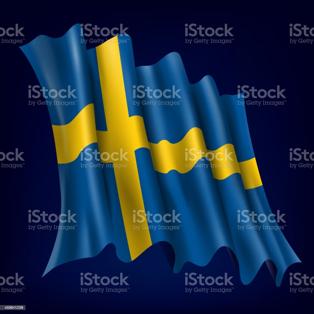 Sweden, Swedish Flag royalty-free sweden swedish flag stock vector art & more images of activity