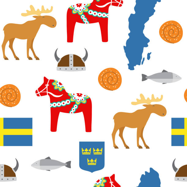 Royalty Free Swedish Culture Clip Art Vector Images Illustrations