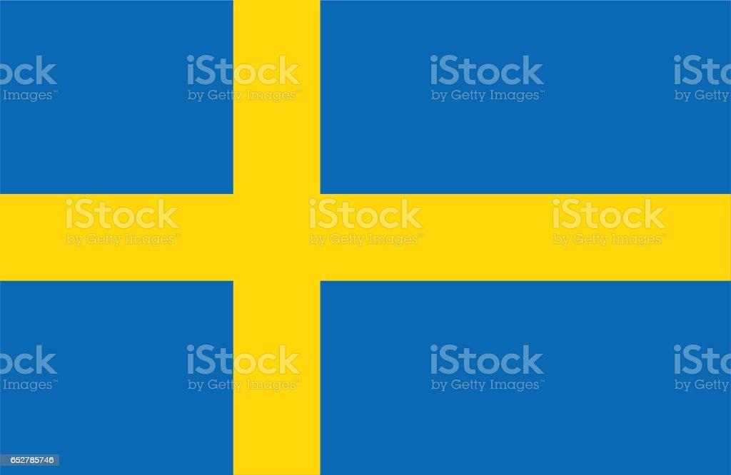 Suecia - ilustración de arte vectorial