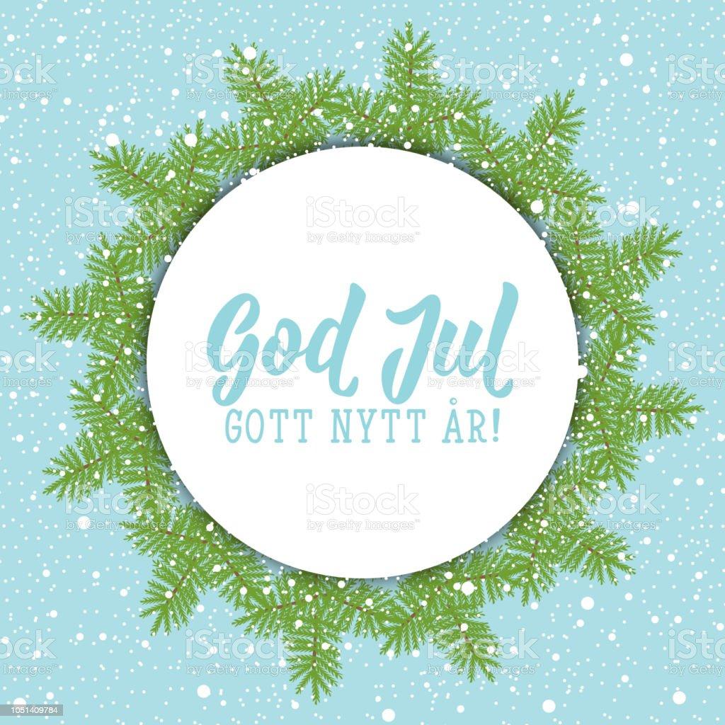 Frohe Weihnachten Schwedisch.Schwedische Text Frohe Weihnachten Frohes Neues Jahr