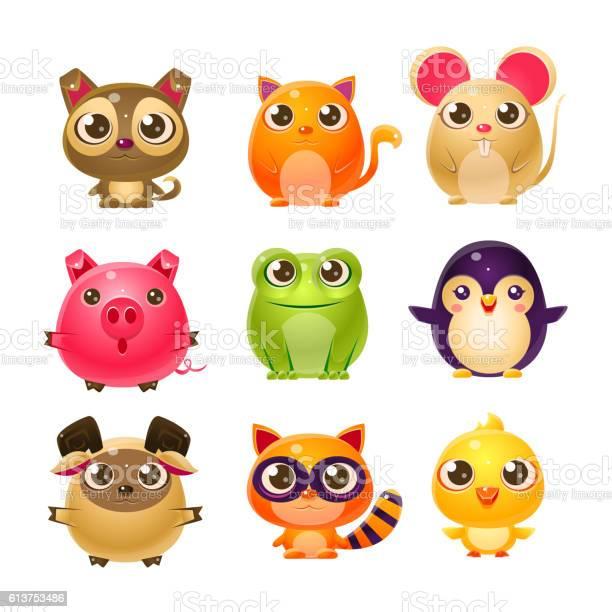 Sweet baby animals in girly design vector id613753486?b=1&k=6&m=613753486&s=612x612&h=emucv s3tydbh99zcungn6uf  7gsgqfkbssmgbko8i=