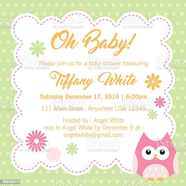 Sweet baby shower invitation vector id598250610?b=1&k=6&m=598250610&s=612x612&h=jqbkswynzpfyp5ljr yy52dl9duq1pnlkhsmyvkcwuk=
