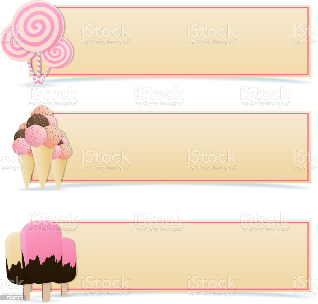 Sweet Banners royalty-free sweet banners stock vector art & more images of banner - sign