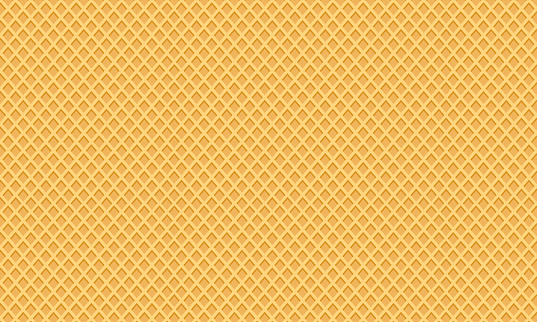 Sweet dessert wafer background, space for your text. Vector