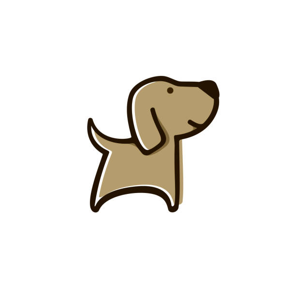 illustrations, cliparts, dessins animés et icônes de adorable chien - dog