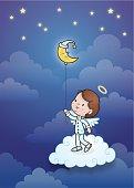 Sweet dreams angel boy
