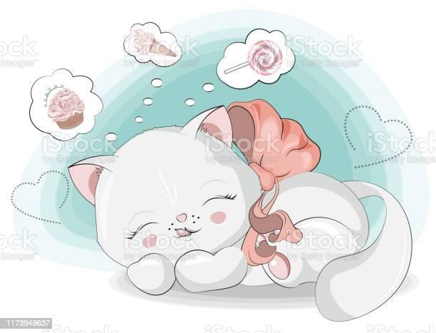 Sweet dreams of a white kitten vector id1173949637?b=1&k=6&m=1173949637&s=612x612&h=axkwprjxr1rwiswilkpg1ah7wanzm l 33jmyv2e8aq=