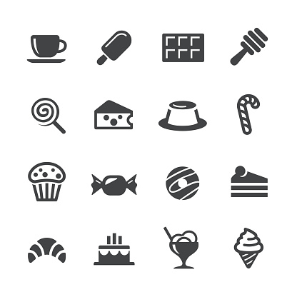 Sweet Food Icons - Acme Series