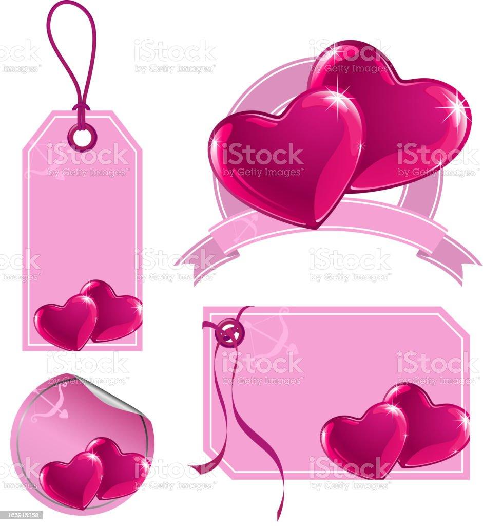 Ilustración de Sweet Corazón Etiqueta De Precio y más banco de ...