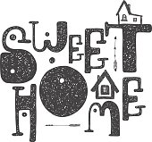 House Warming Party Clip Art, Vector House Warming Party