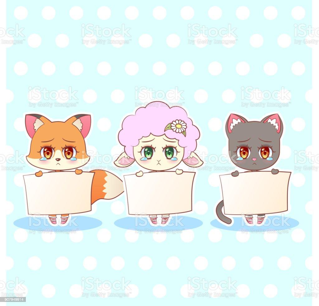 Résultats de recherche d'images pour «chat qui dit pardon kawaii»