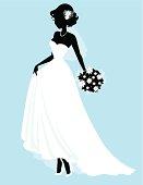 Sweet Little Bride SIlhouette