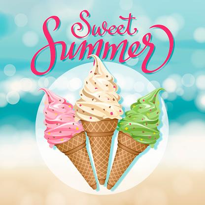 Sweet Summer Ice Cream