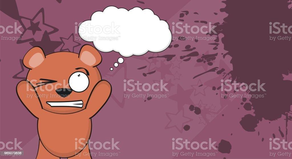 sweet teddy bear cartoon background sweet teddy bear cartoon background - stockowe grafiki wektorowe i więcej obrazów ameryka Łacińska royalty-free