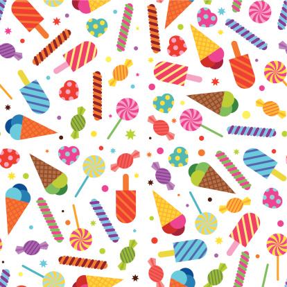 Sweet Treats Wallpaper (Seamless)