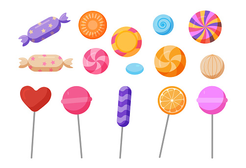 Sweets and candies icon