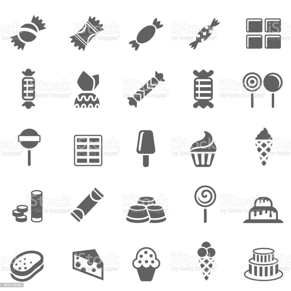 糖果和糖果圖示 免版稅 糖果和糖果圖示 向量插圖及更多 印度 圖片