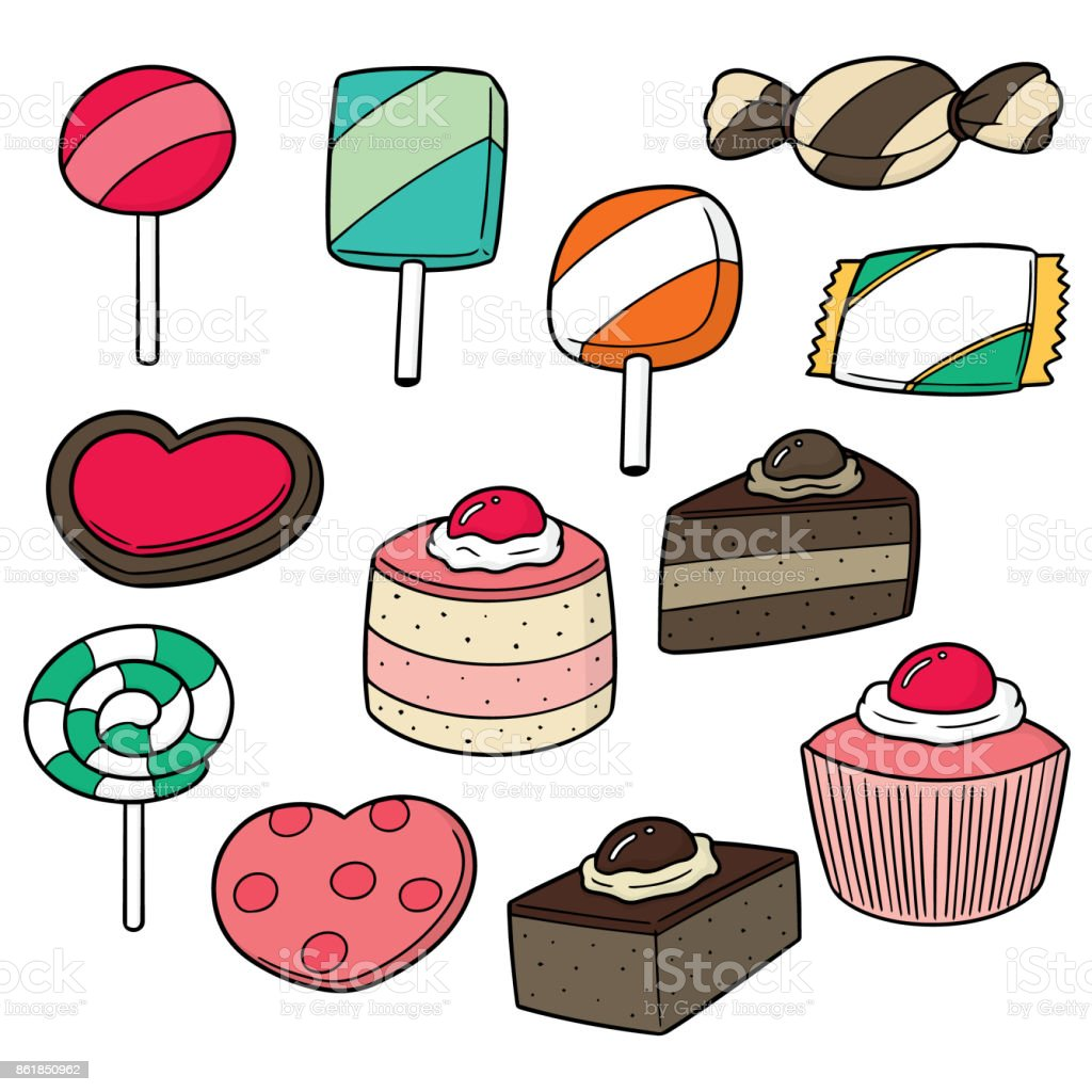 Clipart Süßigkeiten