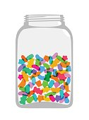 Sweets and Candy Jar