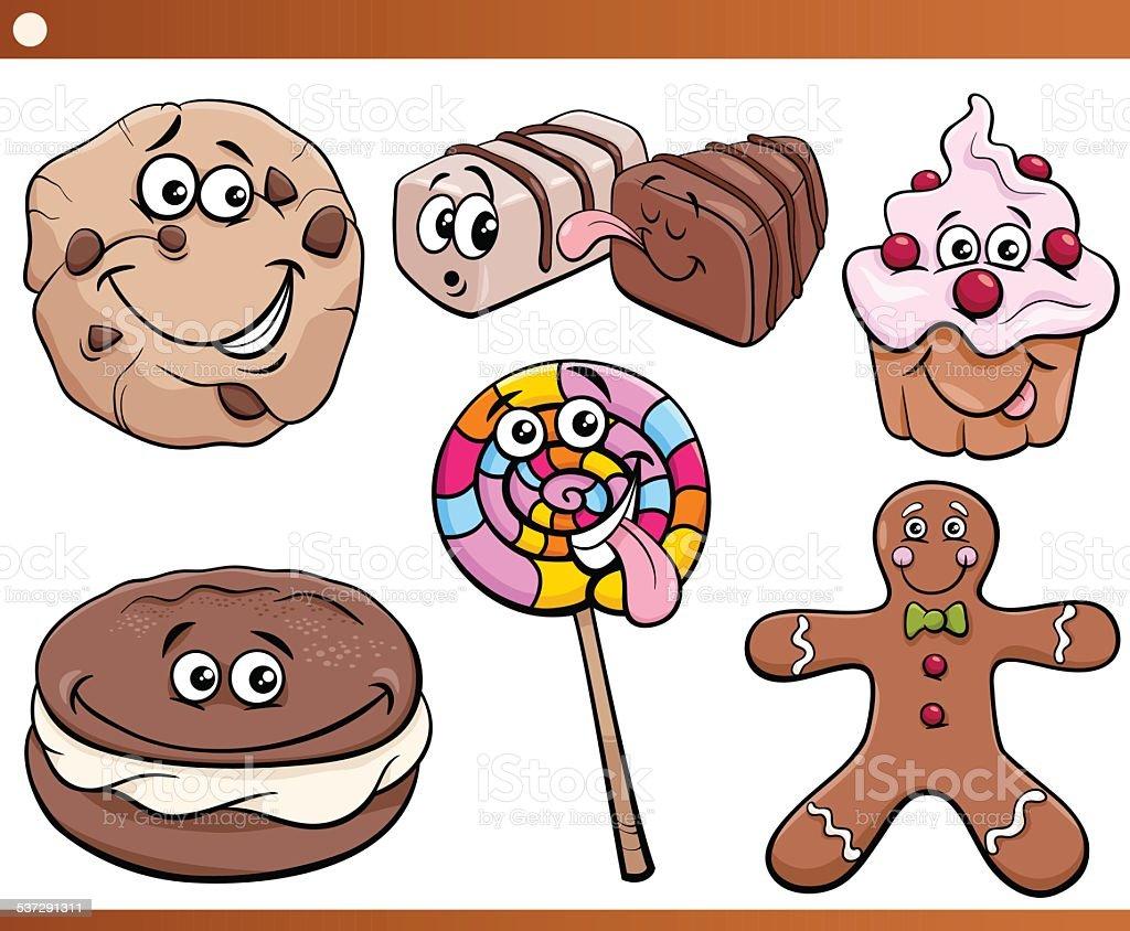Süßigkeiten Comic
