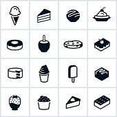 Sweets and Desserts Icons
