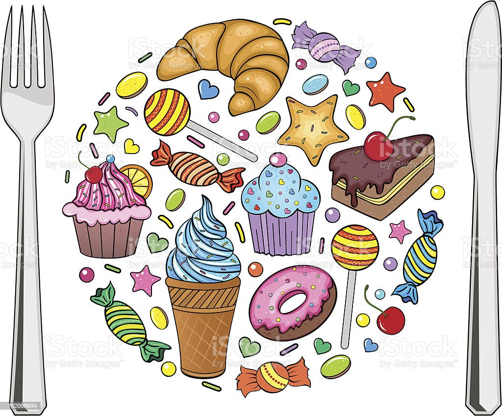 sweets royalty-free sweets stock vector art & more images of abstract