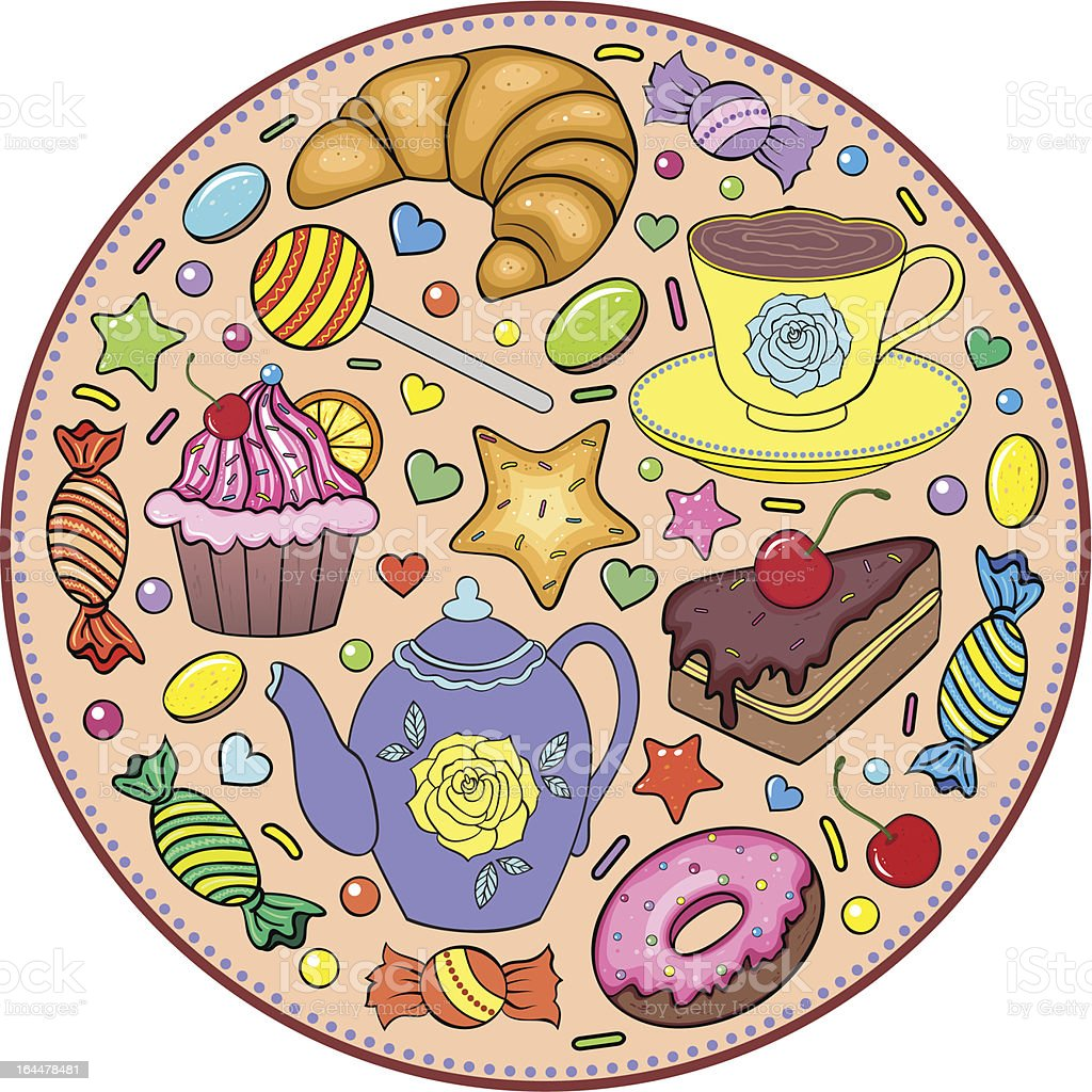 sweets royalty-free sweets stock vector art & more images of art