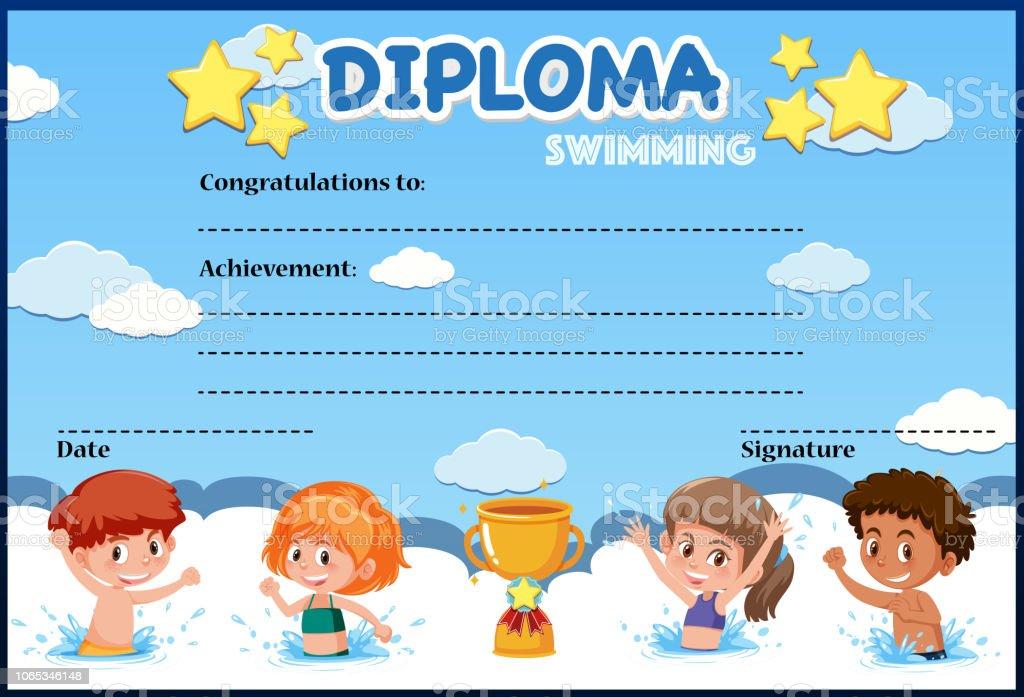Enfants nageant dans la piscine - Telecharger Vectoriel Gratuit, Clipart  Graphique, Vecteur Dessins et Pictogramme Gratuit