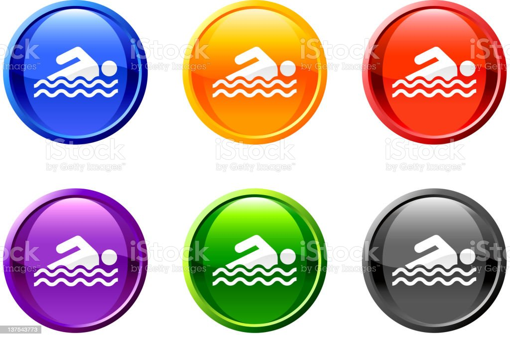 swimming diving button royalty free vector art royalty-free swimming diving button royalty free vector art stock vector art & more images of aquatic sport