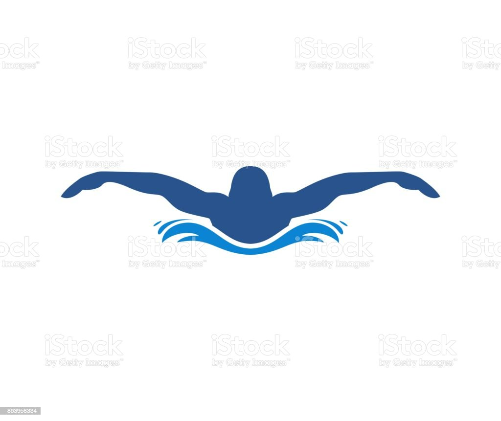 royalty free background of swim logos clip art vector images rh istockphoto com swimming logos free swimming logs online