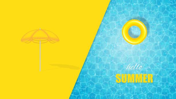 bildbanksillustrationer, clip art samt tecknat material och ikoner med pool design - pool