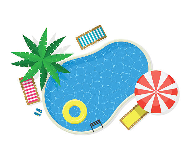 Best Swimming Pool Illustrations, Royalty-Free Vector ...