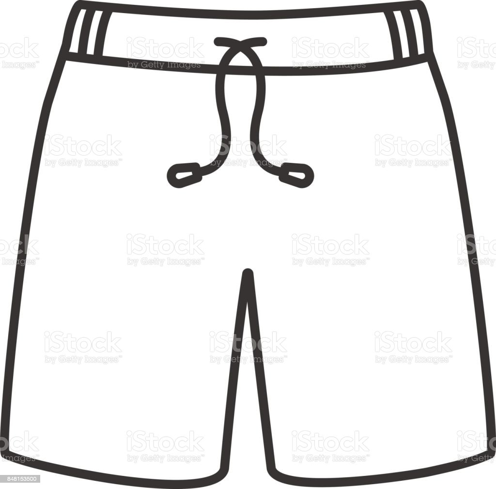 Swimming Trunks Icon Stock Illustration Download Image Now
