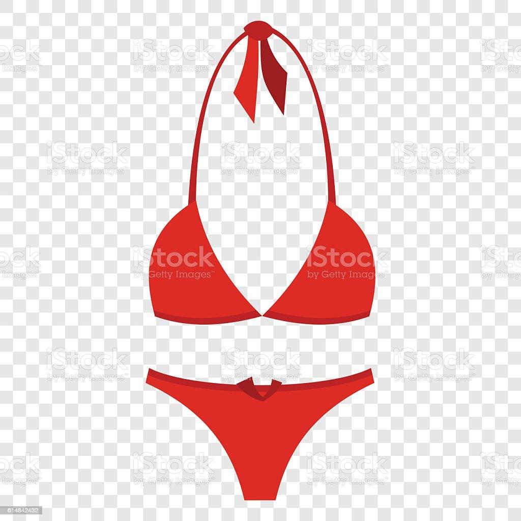 Badeanzug flache Symbol – Vektorgrafik
