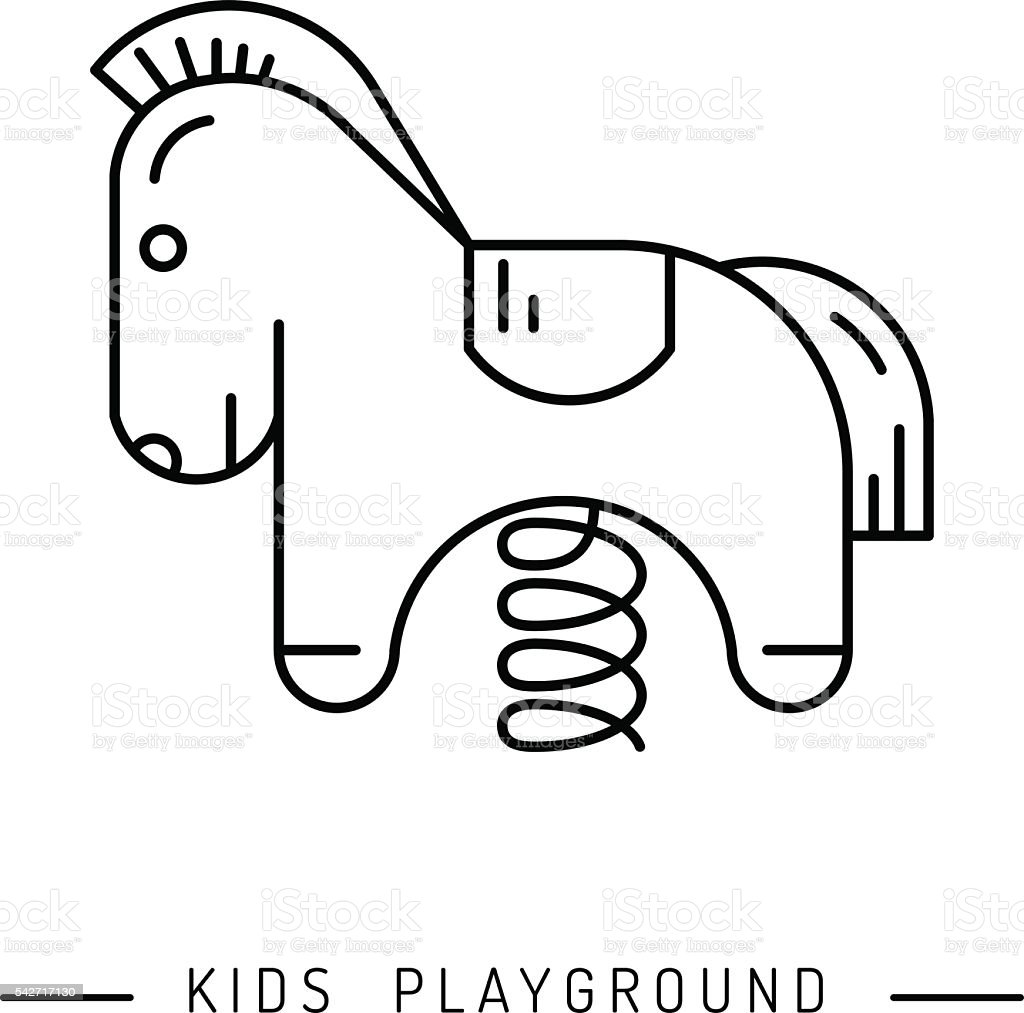 swing for the Playground royalty-free swing for the playground stock vector  art &