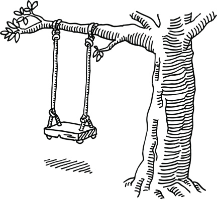 Swing Tree Drawing