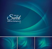 Swirl abstract background series, file format EPS 10