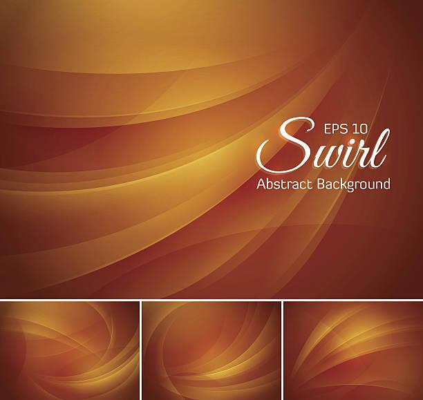 swirl abstrakter hintergrund - dunkelbraun stock-grafiken, -clipart, -cartoons und -symbole