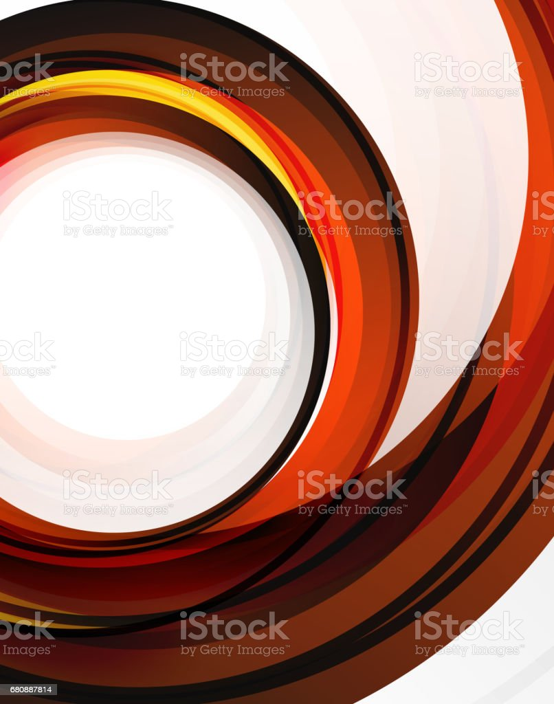 Swirl and circles, futuristic geometrical abstract background royalty-free swirl and circles futuristic geometrical abstract background stock vector art & more images of abstract