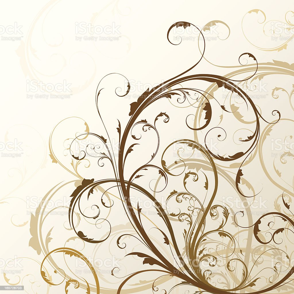 Swirl Background royalty-free stock vector art