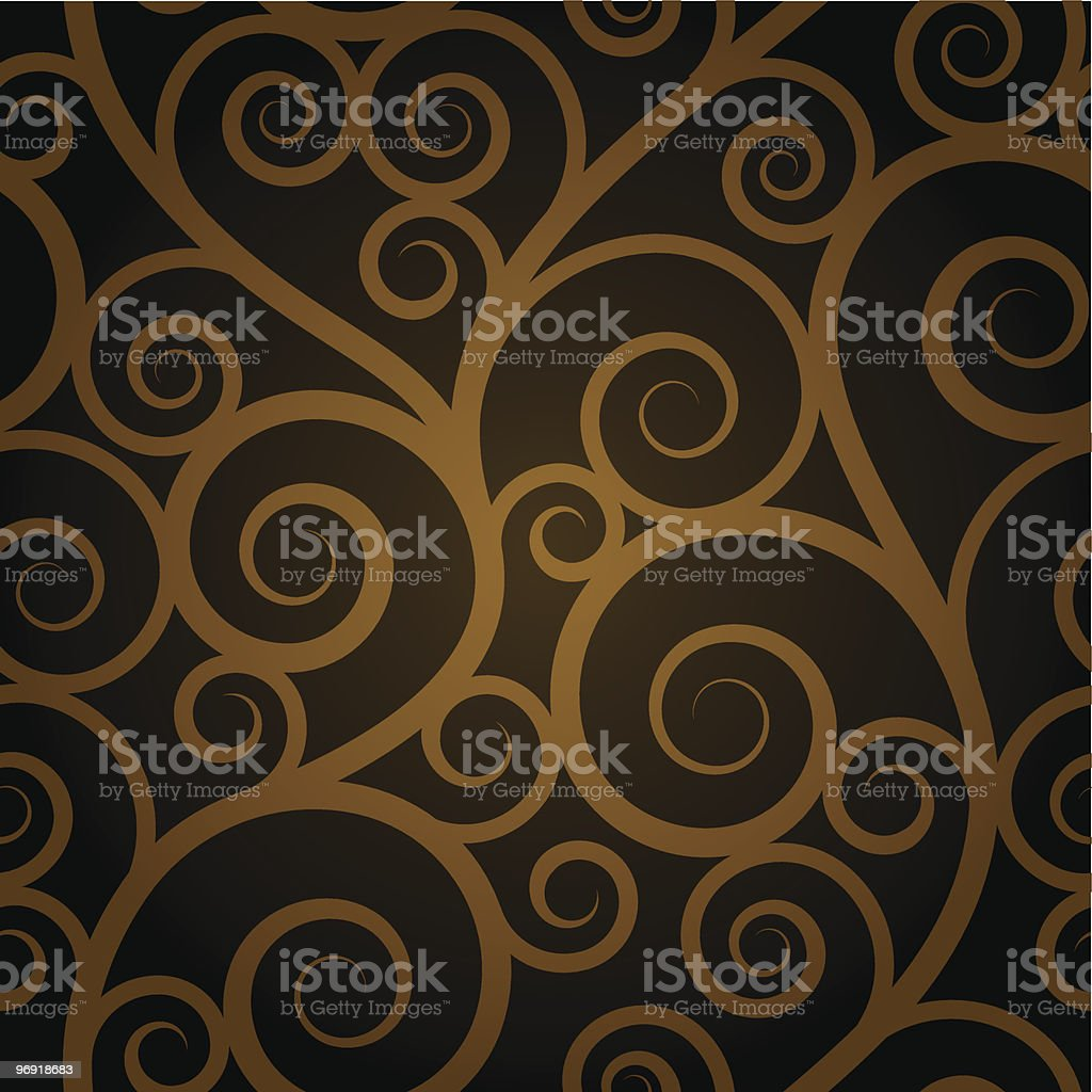 Swirl seamless design on a white background royalty-free swirl seamless design on a white background stock vector art & more images of backgrounds
