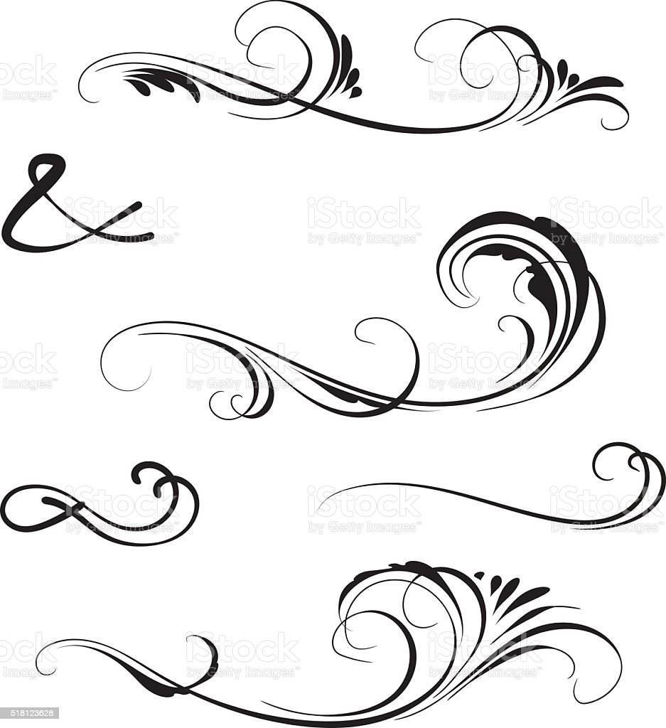 swirl stock vector art   more images of illustration swirl vector background swirl vector line art